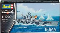 Линкор ROMA, 1:1200, Revell (5821)
