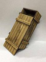 Купюрница шкатулка из дерева