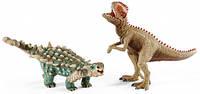 Сайшания и Гигантозавр, набор игрушек-фигурок, Schleich (41426)
