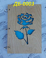 Блокнот №24 из дерева, А5 100 листов, фото 1