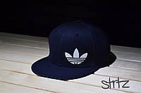 Синяя рэперская кепка снепбек адидас,Adidas Originals Snapback Cap