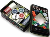 Покерные фишки с номиналом, 100 шт.