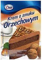 Крем для десерту Emix 100g горіх (15шт/ящ)
