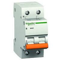 Автоматический выключатель Schneider Electric ВА63 1P+N 50A
