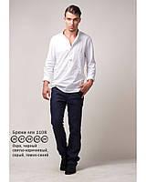 Костюм для худого высокого молодого парня, для подростка, натуральный лен, цвета разные. Размер от ХС 37 ворот, фото 1