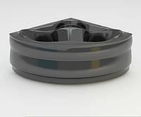 Ванна акриловая ARTEL PLAST  Злата (136) черная, фото 1