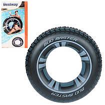 BW Круг 36016 колесо, 91см, от 10-ти лет, в кульке, 15-27-0,5см Bestway (BOC104287)