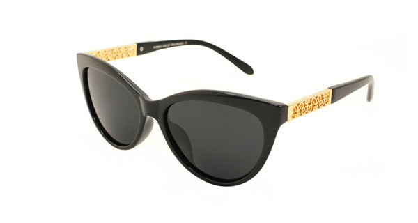 Кошачьи очки стильные солнцезащитные Romeo Polaroid