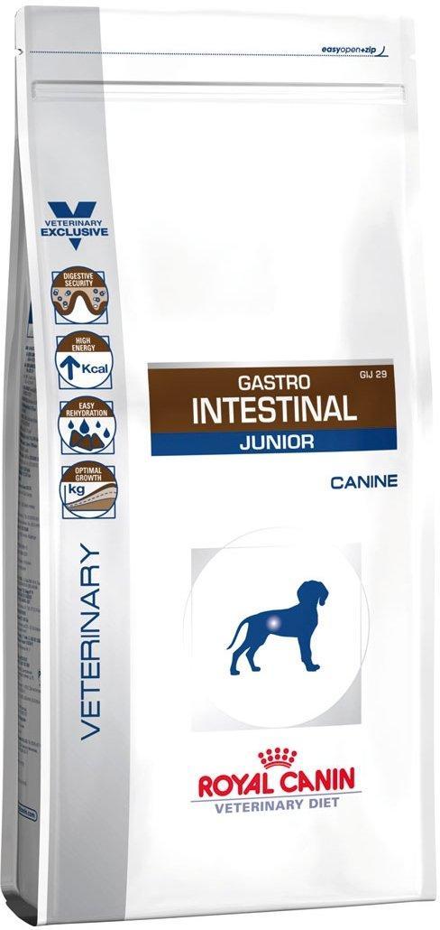 Лечебный корм для собак Royal Canin Gastro Intestinal Junior