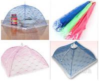 Зонтик- сетка для защиты продуктов от насекомых 35х35х18 см