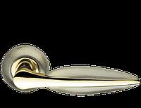 Ручка дверная на розетке Armadillo Lacerta бронза (Китай)