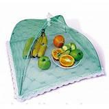 Зонтик- сетка для защиты продуктов от насекомых 34х34х18 см, фото 4