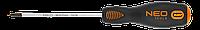Отвертка крестовая PH0x75 мм Neo 04-021