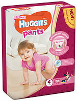 Трусики Huggies Pents для девочек 4 (9-15 кг) 52 шт.