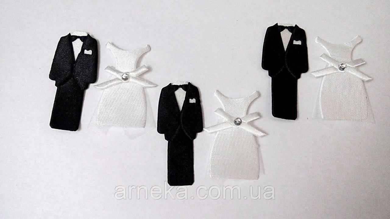 Заготовки для свадебного декора, высота 4,5-5,5 см