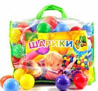 Шарики большие, в сумке 100шт, 60мм, мягкие, МР90024