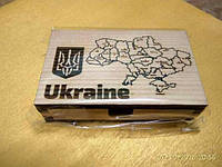 Настольная визитница для карт Украина