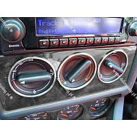 Кольца рамки на ручки печки Audi 80 B3 B4