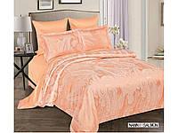 Жаккардовое постельное белье евро размера Arya Nanni AR42