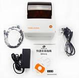 Принтер етикеток, Rongta tech. RP410USB термопринтер штрих кодів, QR кодів 120mm, фото 8