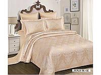 Жаккардовое постельное белье евро размера Arya Perla AR42