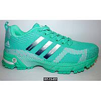 Кроссовки Adidas Marathon Flyknit, 38 размер, цвет мятный