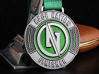 """Медаль финишера  """"Гонка наций"""""""