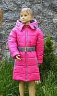 Демисезонное пальто девочке 98,104,110
