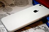 """Виниловая наклейка """"Белая алмазная крошка"""" Iphone 6/6S (0,11 mm)"""