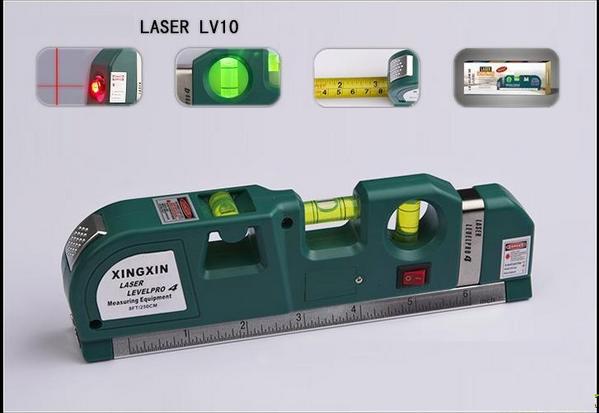 Уровень лазерный Laser PRO 10 профессионального класса с рулеткой