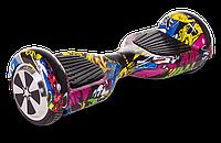 "Гироскутер Smart Balance U3 LED 6,5"" дюймов Hip-Hop (граффити), фото 1"