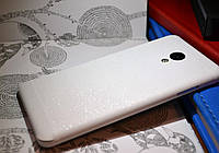 """Виниловая наклейка """"Белая алмазная крошка"""" Meizu M3S (задняя часть) 0,11 mm"""