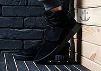 Мужские кроссовки Adidas Tubular black, фото 1
