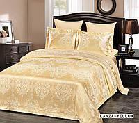 Жаккардовое постельное белье евро размера Arya Lanza AR42