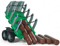 Прицеп для перевозки древесины Rolly Toys 122158