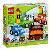 LEGO Duplo Машинки-трансформеры 10552