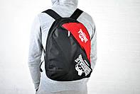 Рюкзак Lonsdale черный с красным