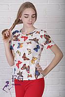 Летняя футболка «Бабочка», фото 1