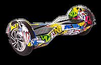 "Гироскутер Smart Balance Lambo U6 LED 8"" дюймов Hip-Hop (граффити), фото 1"