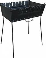 Мангал чемодан на 8 шампуров, фото 1