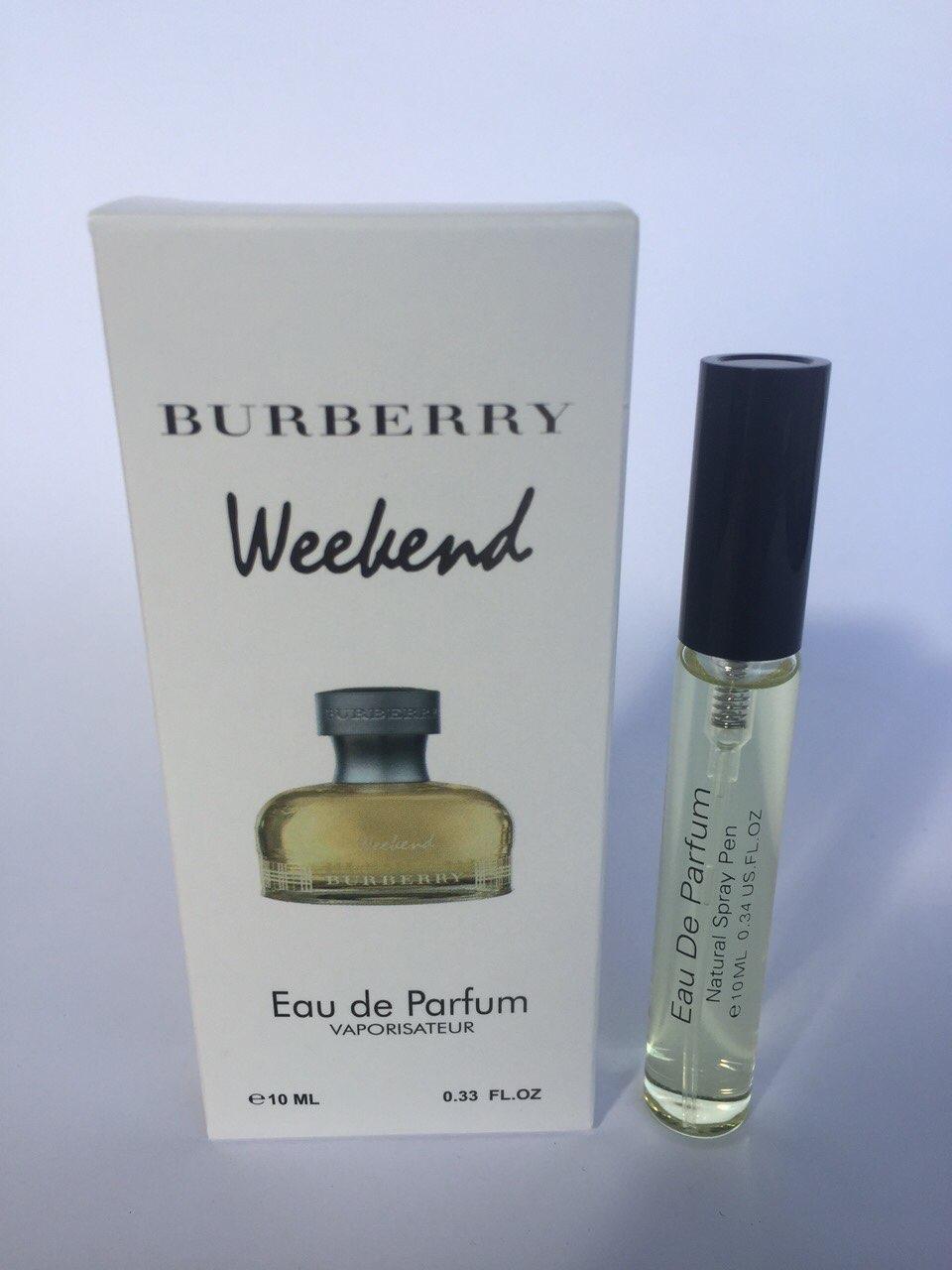 Женский мини парфюм с феромонами Burberry Weekend for women (Барберри Викенд фо вумен) 10 мл