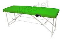 """Массажный стол-кушетка """"Lux"""" Неоновый зеленый"""