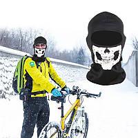 Балаклава, маска с черепом