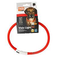 Ошейник Karlie-Flamingo Visio Light Led для собак светящийся, 70 см
