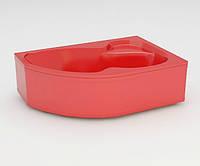 Ванна акриловая ARTEL PLAST Флория (170) красная, фото 1