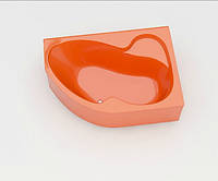 Ванна акриловая ARTEL PLAST Флория (170) оранжевая, фото 1