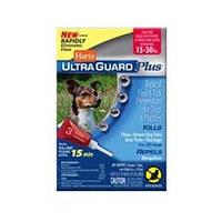 Hartz (Хартц) UltraGuard PLUS Drops капли от блох, яиц блох, клещей и комаров для собак весом от 7 кг до 13 кг