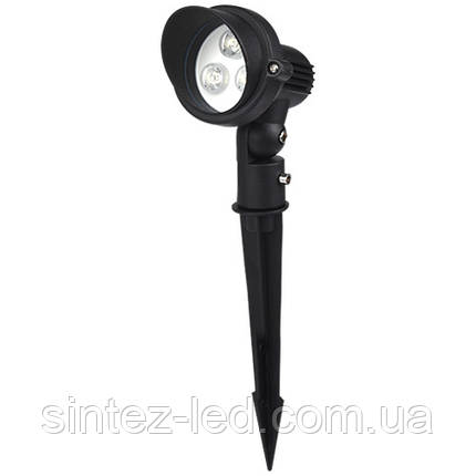 Светодиодный грунтовой линзованный светильник SP4121 3W 6400K IP65 Код.58884, фото 2