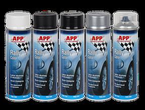 Акриловая аэрозольная краска Rally Color, 500мл (белая)