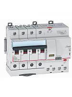 Дифференциальный автомат DX3 4П С 63A 30мА - АС (10kA 7 модулей) Legrand Легранд